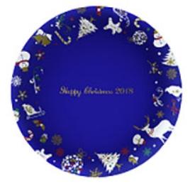 ケンタッキーのクリスマス「クリスマス絵皿2018」