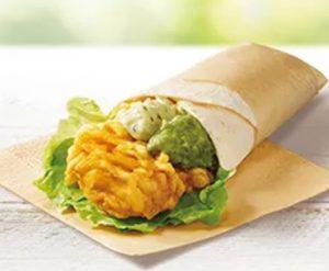 KFCバジルアボカドツイスター