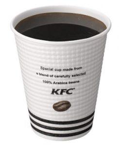 ケンタッキー「挽きたてアメリカンコーヒー」