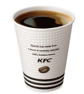 ケンタッキー「挽きたてリッチコーヒー」2